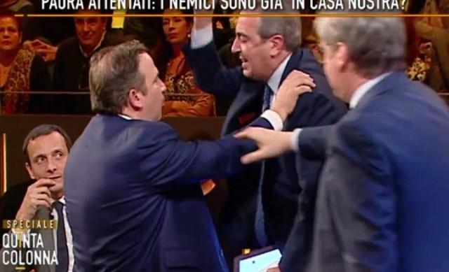 (Italiano) La lite tra Gasparri e Telese: interroghiamoli tutti